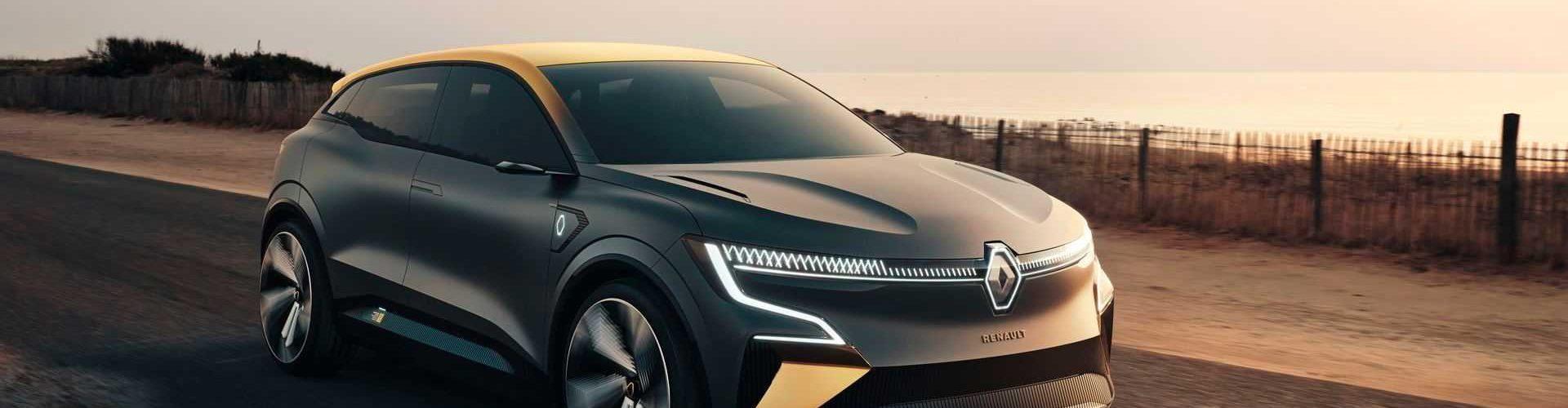 Электромобиль Renault Megan eVision