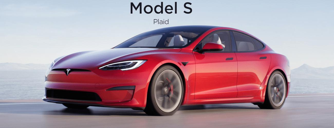 Обновленная версия Tesla Model S