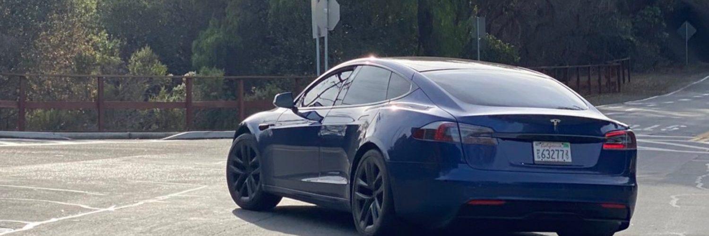 Прототип Tesla Model S