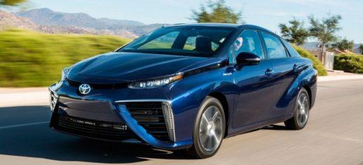 Автомобиль Тойота на водороде