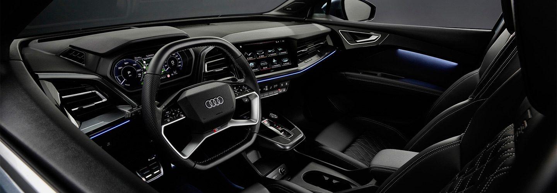 Анонс кроссовера Audi Q4 e-tron