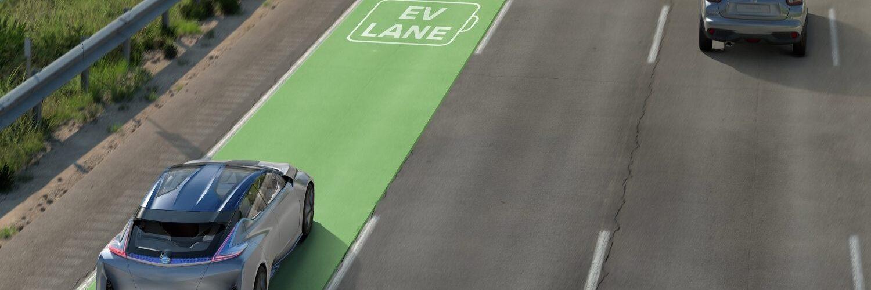 Зарядка электромобилей во время движения