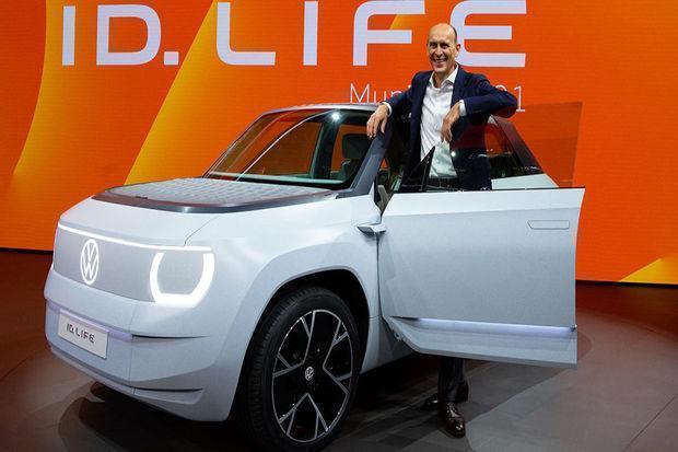 Прототип электромобиля Volkswagen ID. Life